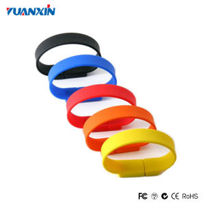 Customized Wristband USB Flash Drive 8GB