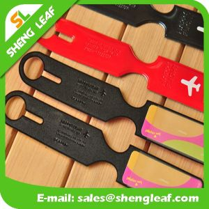 Hot Selling Promotional Custom Full Color Print PVC Plastic Luggage Tag pictures & photos