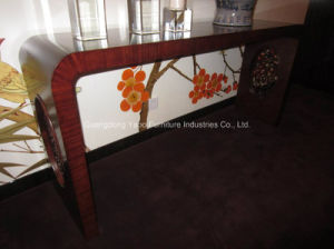 Hotel Decoration Table Wooden Furniture Hotel Console pictures & photos