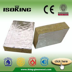 Isowool China Fireproof Insulation Rockwool Board pictures & photos