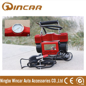 12 Car Air Pump Tire Inflator Air Compressor with Double Cylinder (W2024)