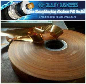 Copper Foil Pet Tape for Cable Shielding pictures & photos