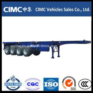 Cimc 4 Axle 100 Ton Container Skeletal Semi Trailer pictures & photos