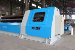 Krrass W12-10X2500mm CNC 4 Roller Rolling Machine with Ce pictures & photos