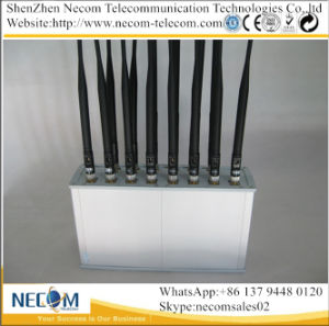 Exclusive Products High Power 800 /900 /1800 /1900 /3G/4G/433/315MHz WiFi Signal Jammer,100-2700MHz Jammer for Jail,Library,Theater, Church,Police,Goverment pictures & photos
