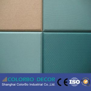 Fabric Acoustic Panel Soundproofing Material for Wall pictures & photos