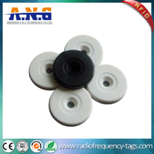ABS Hf RFID Disc Hard Tag, Hf RFID Tags Writable Button Inspection pictures & photos