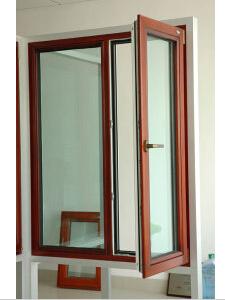 Aluminum Double Glazed Casement Windows