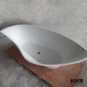 Modern Beige Resin Stone SPA Bathtub for Five Star Hotel (BT170921) pictures & photos
