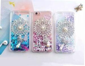 Diamond Pearl Liquid Star Quicksand TPU Phone Case for iPhone 6 6splus 7 7plus