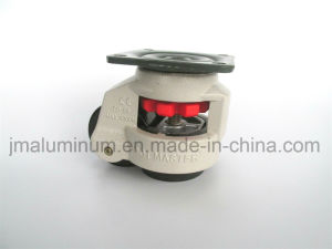 Plate Type Footmaster Caster Wheels Gd-80f Gd 80f Foot Leveling Master for Aluminum Equipment or Machine pictures & photos
