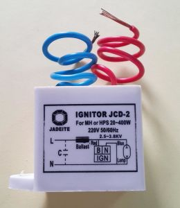 Jcd5a Ignitor for High Pressure Sodium Lamp pictures & photos