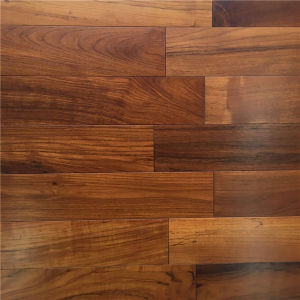 High Quality Natural Oiled Burma Teak Solid Timber Wood Flooring pictures & photos