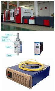 Stainless Steel Fiber Laser Metal Cutting Machine 500W pictures & photos
