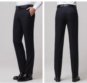 Top Quality Custom Design Men′s Wrinkle-Free Business Pants Slim Fit pictures & photos