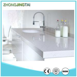 Price Custom Size Prefab Kitchen Quartz Countertop pictures & photos
