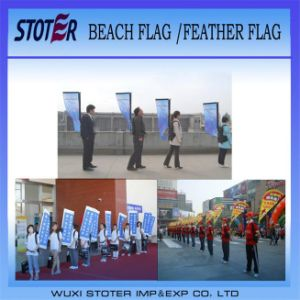 Custom Walking Rectangle Backpack Flag pictures & photos