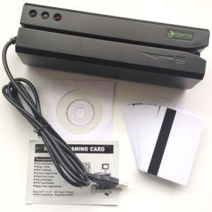 USB Msr608d Mac OS Encoder Credit Magstrip Swipe Reader Data Collector 3 Tracks Hico Magnetic Strip Card Reader Writer Upgraded Msr606 Msr605 Msr605X Ms