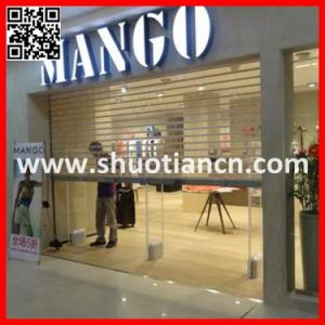 Commercial Used Transparent Automatic Roll-up Door (ST-003) pictures & photos