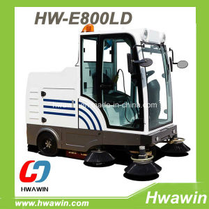 Electric Powerful Road Sweeper with Auto Discharging System pictures & photos