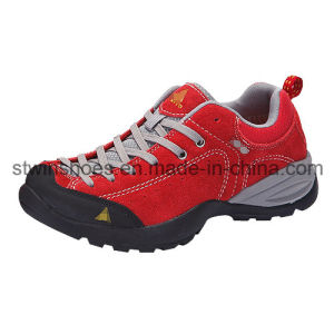 High-Top Suede Hiker Breathable Shoes with Md Sole