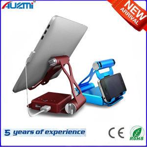 Universal 8000mAh Dual USB Stand Holder Power Bank