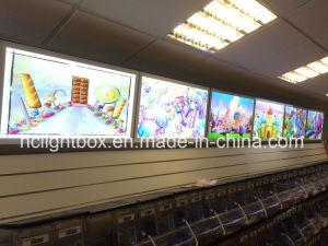 Aluminum Magnetic Slim LED Light Box pictures & photos