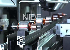 High Effiecency Armature Winding Machine Rotor Manufacturing Assembly Line pictures & photos