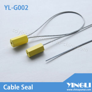Pull Tight Cable Seals with Laser or Hot Printings pictures & photos