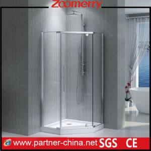 High Quality Frameless Stainless Steel Shower Enclosure pictures & photos