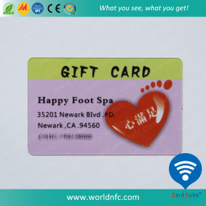13.56MHz RFID Card Ntag213 Smart Card for Gift Card pictures & photos