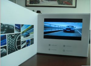 HD LCD Screen Video Mailer - Video Greeting Card pictures & photos