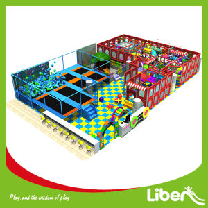 Toddler Soft Play Zone in Trampoline Park with Foam Pit pictures & photos