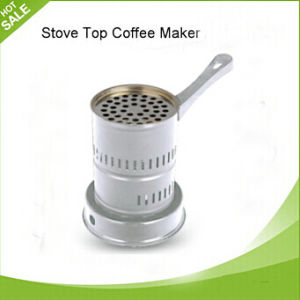 BS Plug or VDE Plug Silver Electric Coffee Stove