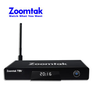 Factory Price Zoomtak T8V 4k 64bit OS 5.1 S905 Smart TV Box pictures & photos