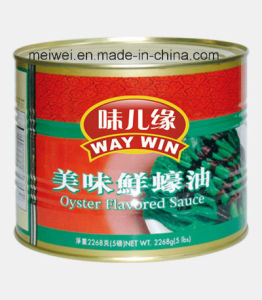2268g Flavored Oyster Sauce in Tin pictures & photos