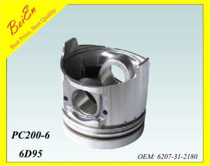 Good Quality Pistion for Excavator Engine PC200-6 (Part number: 6207-31-2180) pictures & photos