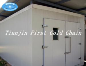 Seafood Processing with Cold Storage/Room for Shrimp Chicken Store pictures & photos