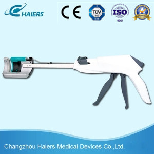 Disposable Curved Cutter Stapler for Salpingectomy pictures & photos