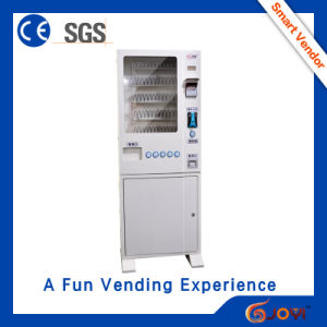 Dual Touch-Screen Candy Coffee Smart Vending Machine