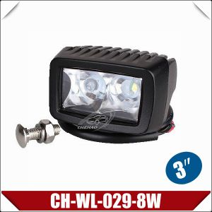 "3"" 8W CREE LED Work Light with 4W/LED (CH-WL-029-8W)"