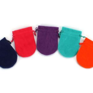 Wholesale Favor Velvet Drawstring Pouches (CVB-1091) pictures & photos