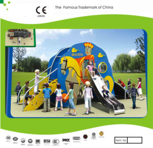 Kaiqi Small PE Plastic Cartoon Slide Set for Children′s Outdoor Playground (KQ21056A) pictures & photos