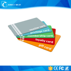 New Design RFID Printing Barcode PVC VIP Card pictures & photos