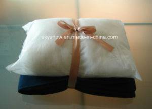 Blanket Pillow with Satin Ribbon (SSB0202) pictures & photos