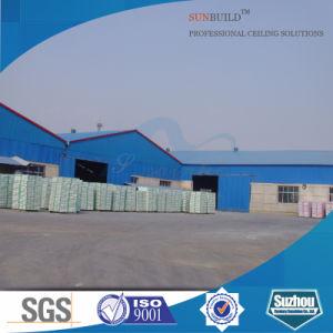 PVC Gypsum Ceiling Tiles (595*595 603*603mm) pictures & photos