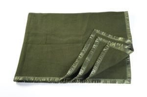 High Quality Military Sheep Wool Blanket Supplier pictures & photos