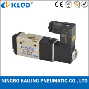 Pilot Acting Aluminum Pneumatic Solenoid Valve 4V210-08 pictures & photos