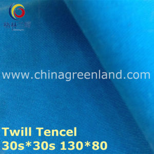 100% Tencel Twill Woven Fabric for Textile Garment (GLLML223) pictures & photos