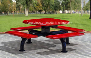 Park Bench, Picnic Table, Cast Iron Feet Wooden Bench, Park Furniture FT-Pb052 pictures & photos